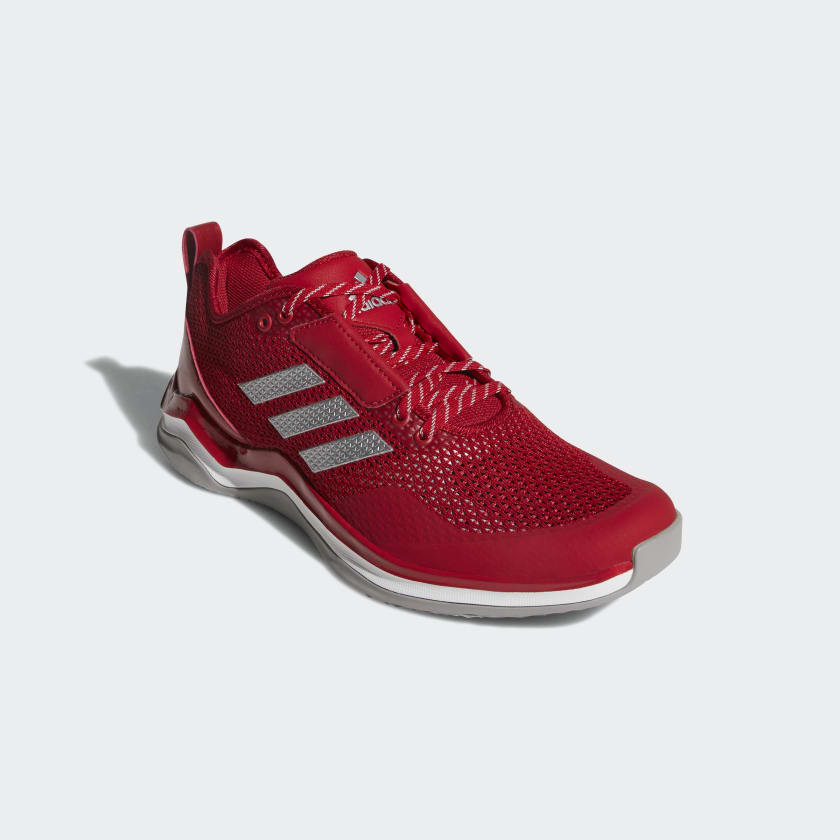 NEW Adidas Speed Trainer 2 size 17 Red Athletic Shoes