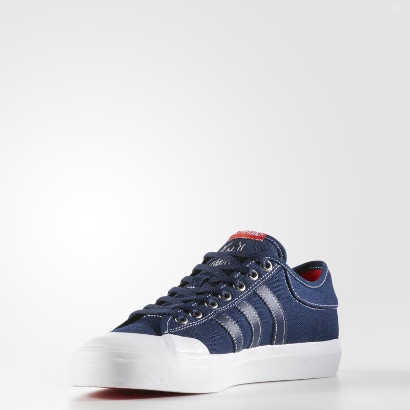 Adidas Matchcourt X Bonethrower Artwork College Navy Red Sole Men's Size 11