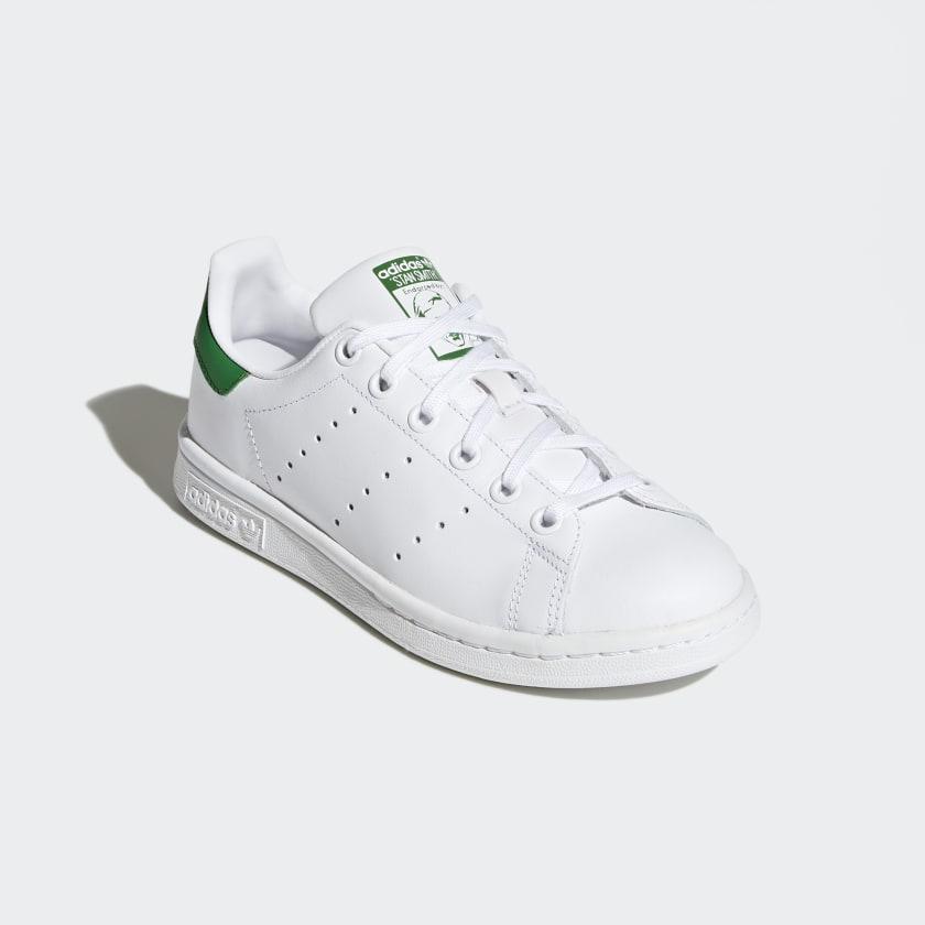 adidas stan smith white /white /solar redfin stock market