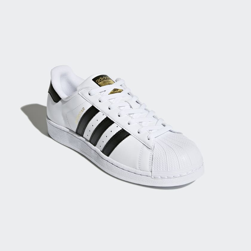 Adidas Superstar Unisex White Black Shoes Model:A991