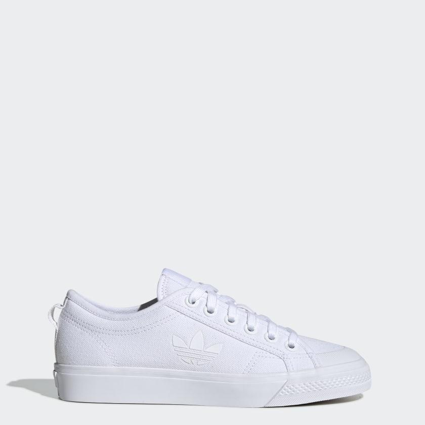 adidas-Originals-Nizza-Trefoil-Shoes-Women-039-s thumbnail 17