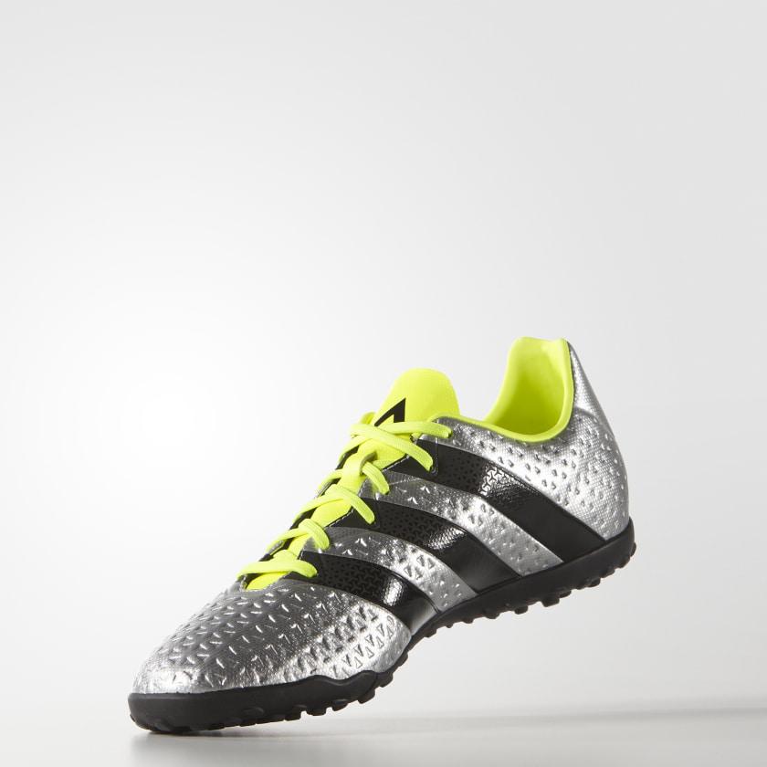 Zapatos de fútbol para césped artificial ACE 16.4 - Plateado adidas ... b1183fd6b45f2