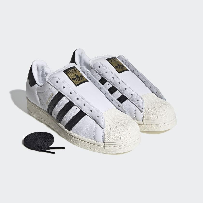 adidas-Originals-Superstar-Laceless-Shoes-Men-039-s thumbnail 11