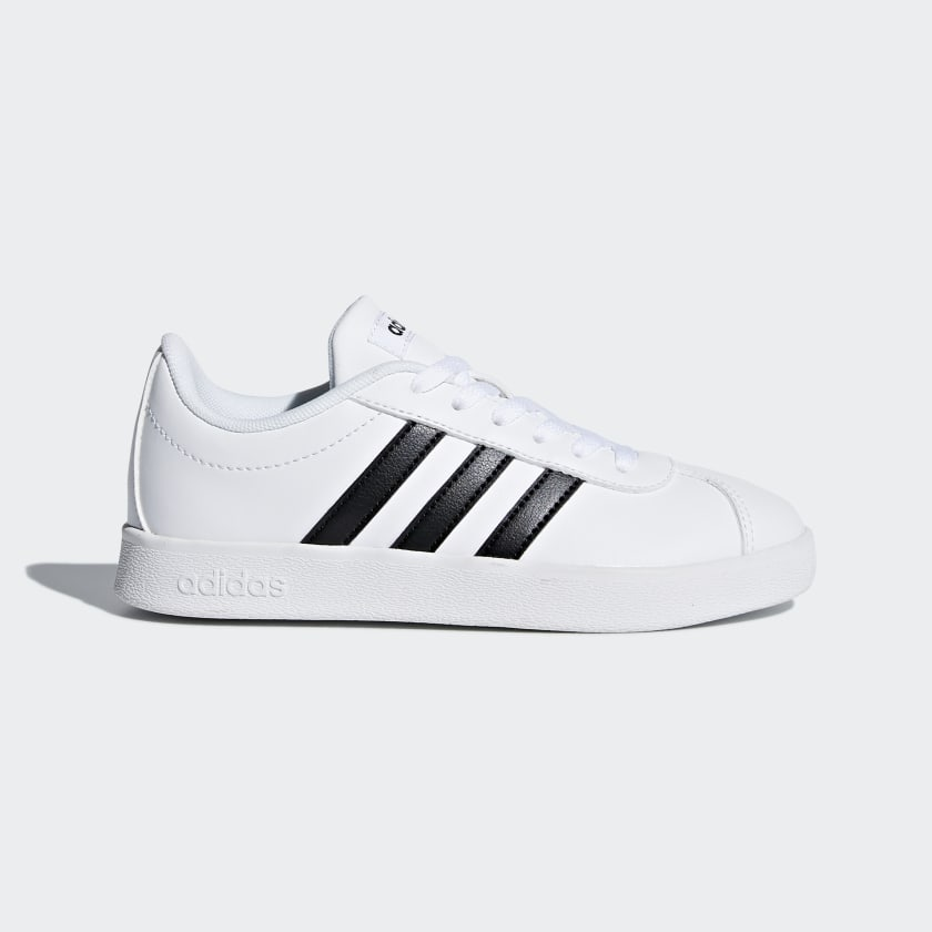 adidas-VL-Court-2-0-Shoes-Kids-039 thumbnail 11