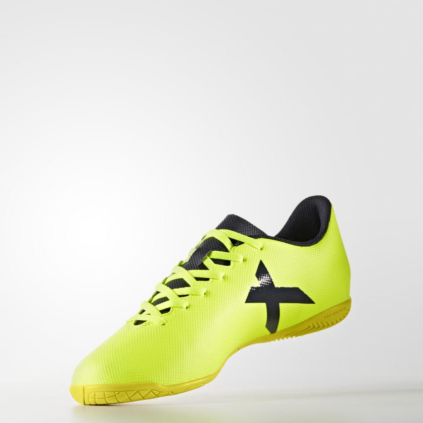 Chuteira X 17.4 - Futsal - Amarelo adidas  d7e4bcf517271