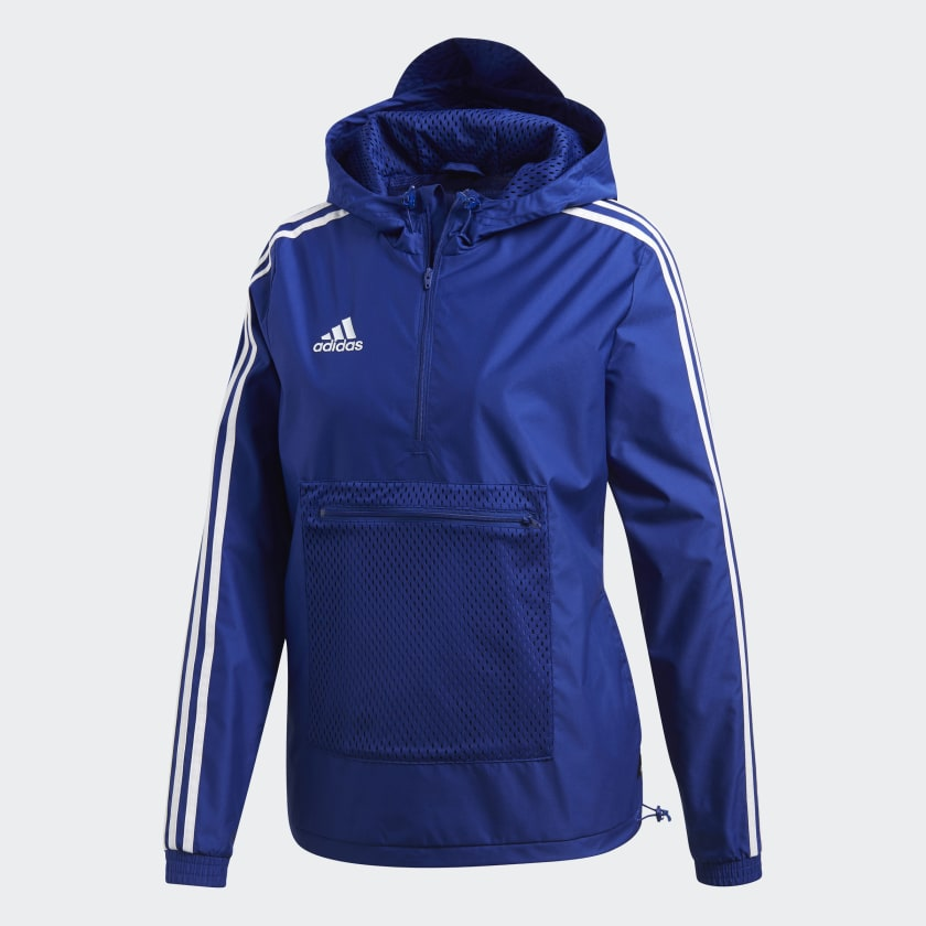 adidas-Core-18-Rain-Jacket-Women-039-s thumbnail 11