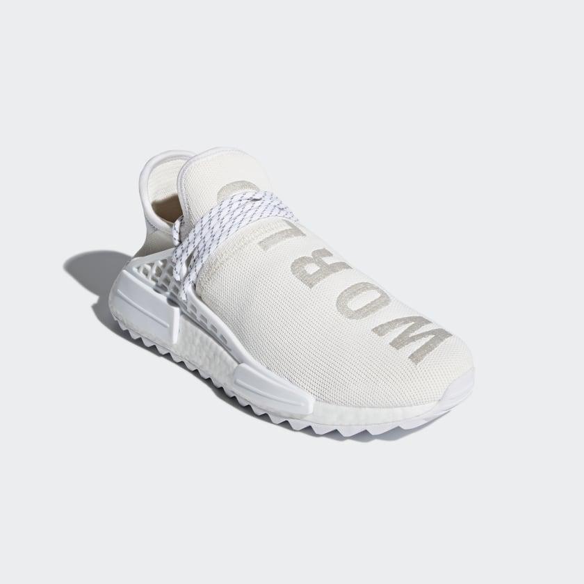 adidas Pharrell Williams Hu Holi NMD BC Shoes - White   adidas US b51416505f