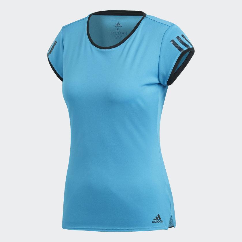 adidas-3-Stripes-Club-Tee-Women-039-s thumbnail 29