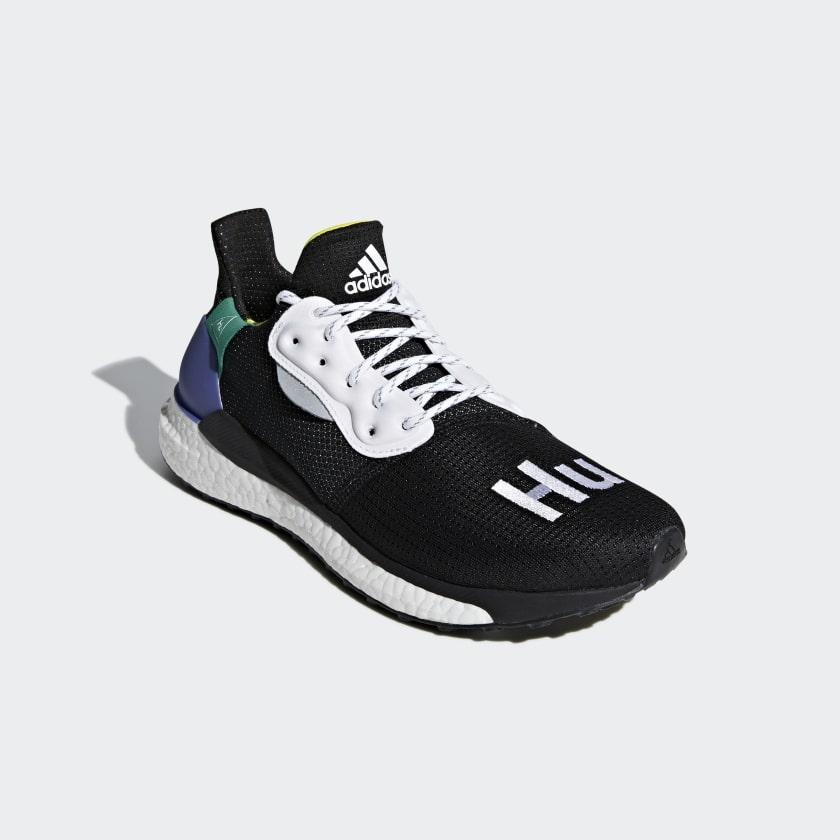 Buty Pharrell Williams x adidas Solar Hu Glide