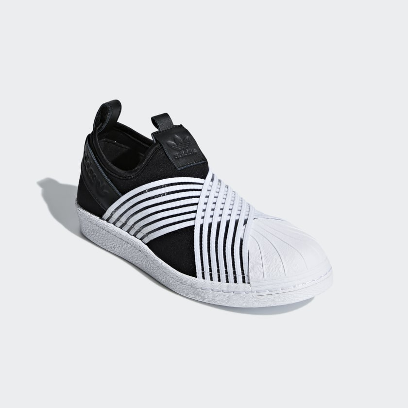Adidas Superstar Slip on W, Chaussures de Basketball Femme