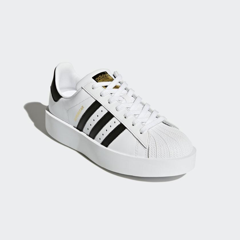 29b92f9a03 Tênis Superstar Bold Platform - Branco adidas