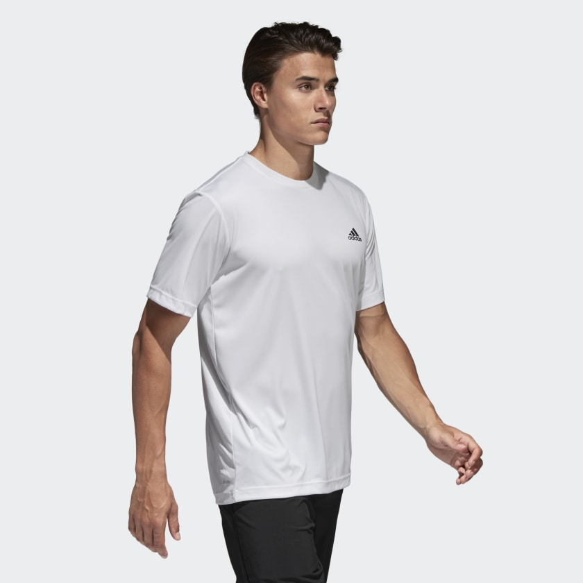 Camiseta Approach - Branco adidas  872fa18bc46fb