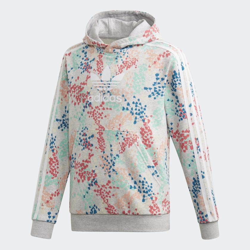 farbkleckse adidas hoodie