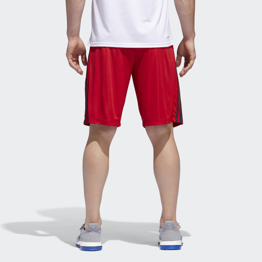 adidas-D2M-3-Stripes-Shorts-Men-039-s thumbnail 32