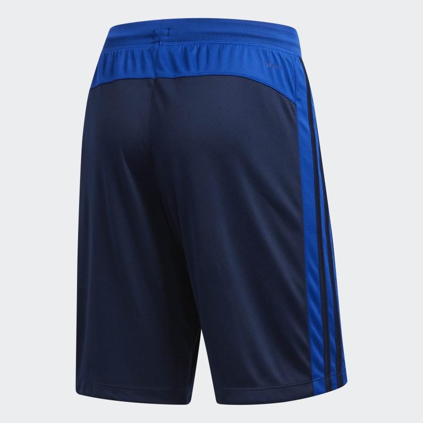adidas-D2M-3-Stripes-Shorts-Men-039-s thumbnail 11