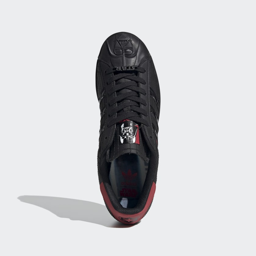 thumbnail 13 - adidas Originals Superstar Star Wars Darth Vader Shoes Men's