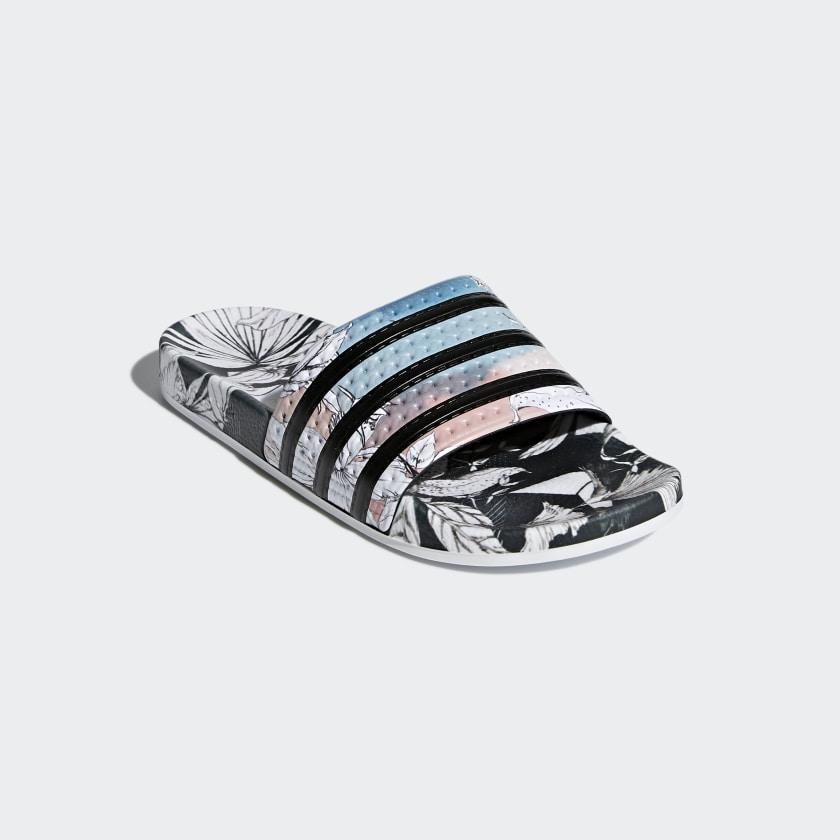 b157b8640 adidas Sandale Adilette - noir