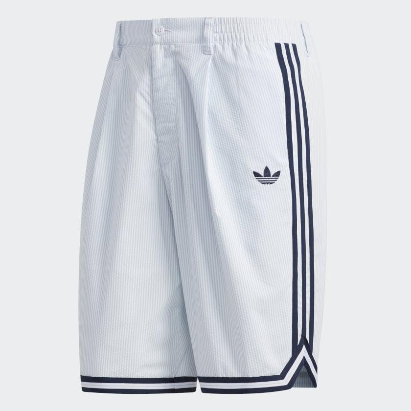 Detalles acerca de Adidas Originales Seersucker Pantalones Cortos Para Hombre mostrar título original