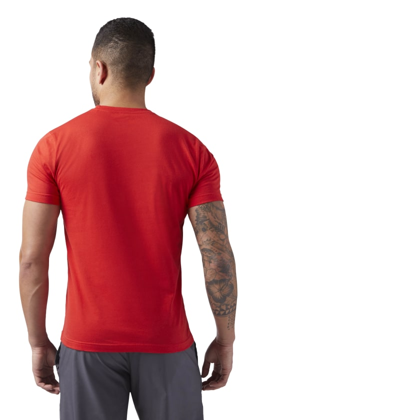 Reebok-Men-039-s-Linear-Read-Tee thumbnail 27