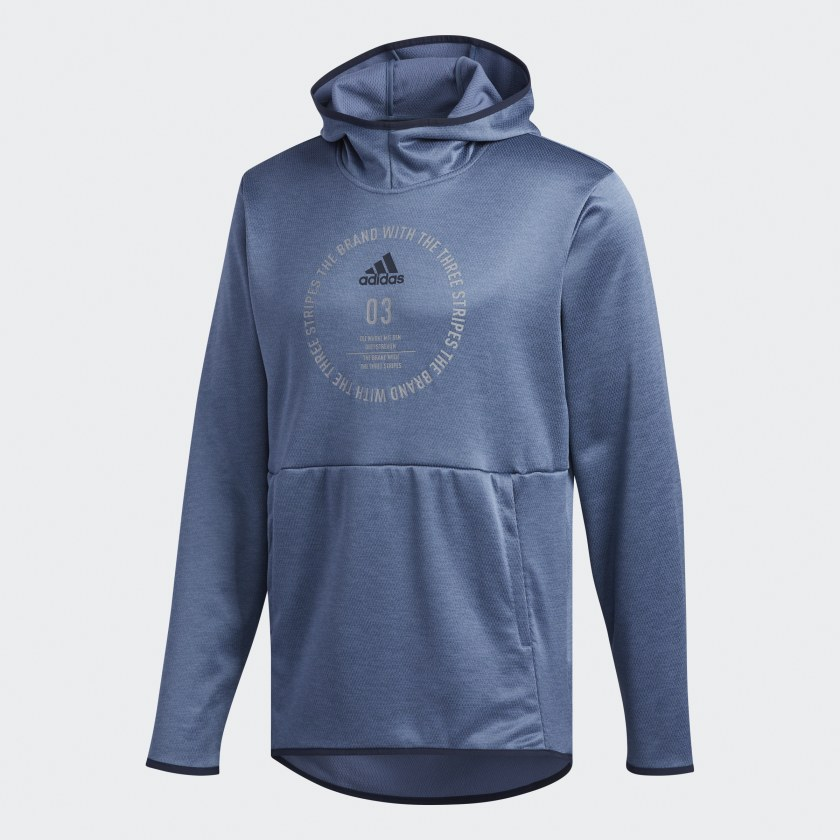 adidas-Team-Issue-Badge-of-Sport-Hoodie-Men-039-s thumbnail 36