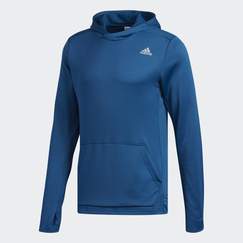 adidas-Own-the-Run-Hoodie-Men-039-s thumbnail 21