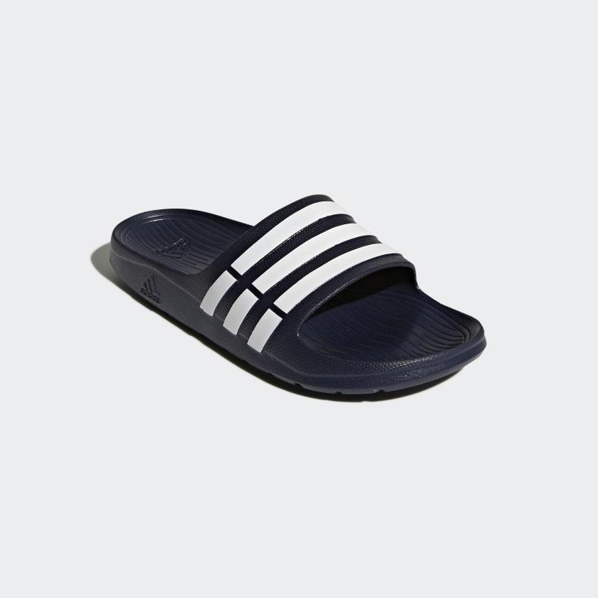 adidas-Duramo-Slides-Men-039-s thumbnail 20