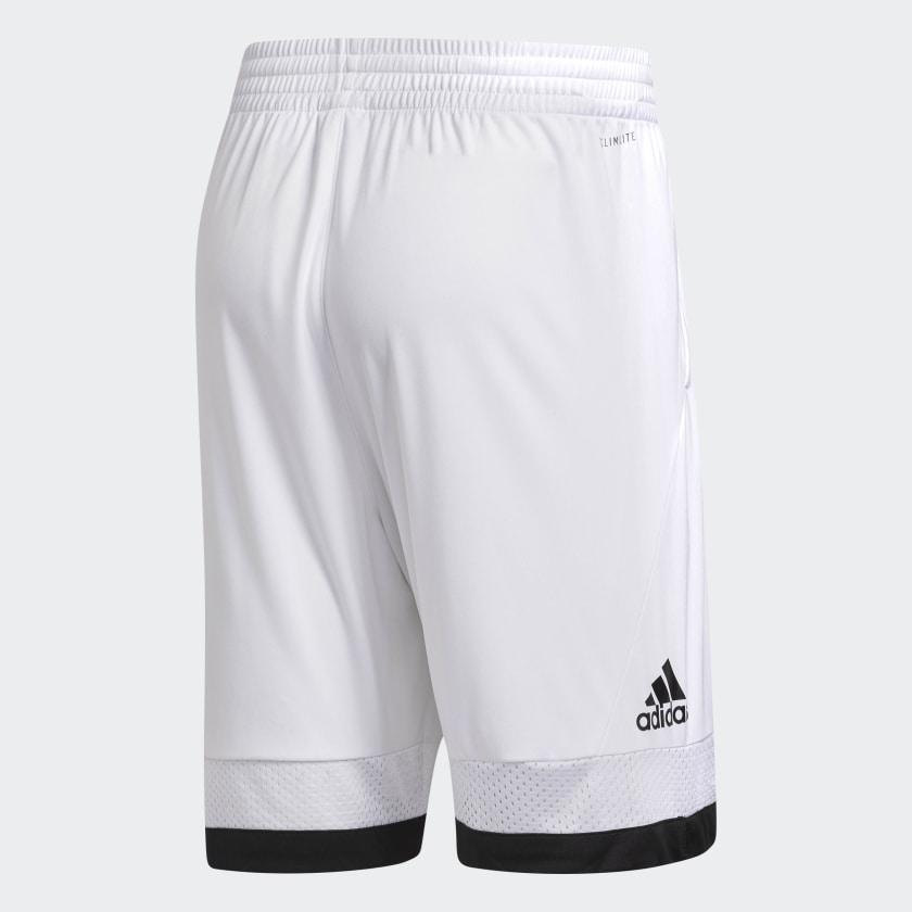adidas-Pro-Bounce-Shorts-Men-039-s thumbnail 3