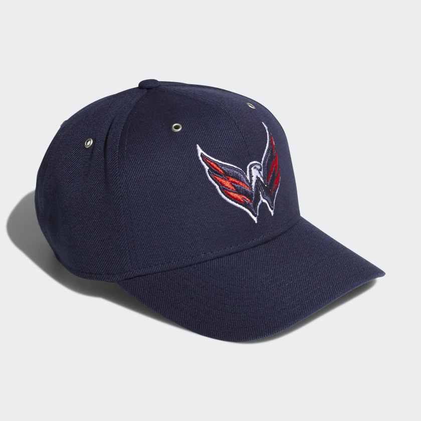 Capitals Adjustable Leather Strap Hat