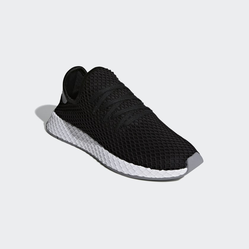 adidas deerupt runner shoes black adidas us