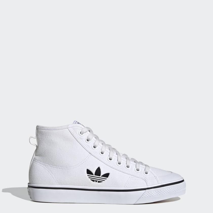 adidas-Originals-Nizza-Hi-Shoes-Men-039-s thumbnail 12