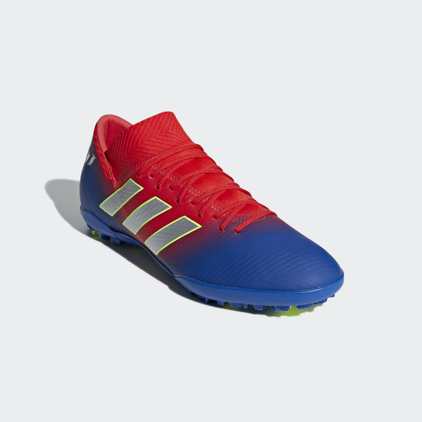 Zapatilla de fútbol Nemeziz Messi Tango 18.3 moqueta