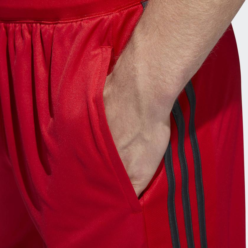 adidas-D2M-3-Stripes-Shorts-Men-039-s thumbnail 33