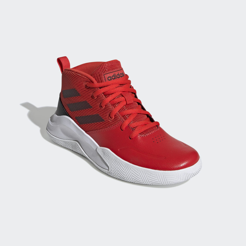 adidas-OwnTheGame-Wide-Shoes-Kids-039 thumbnail 11