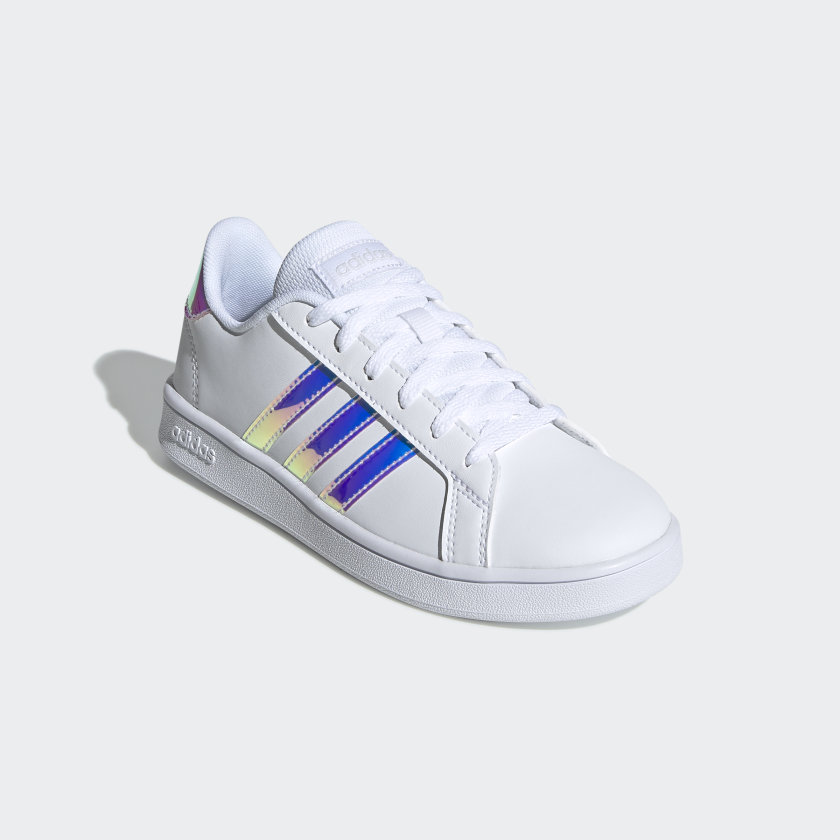 adidas-Grand-Court-Shoes-Kids-039 thumbnail 12