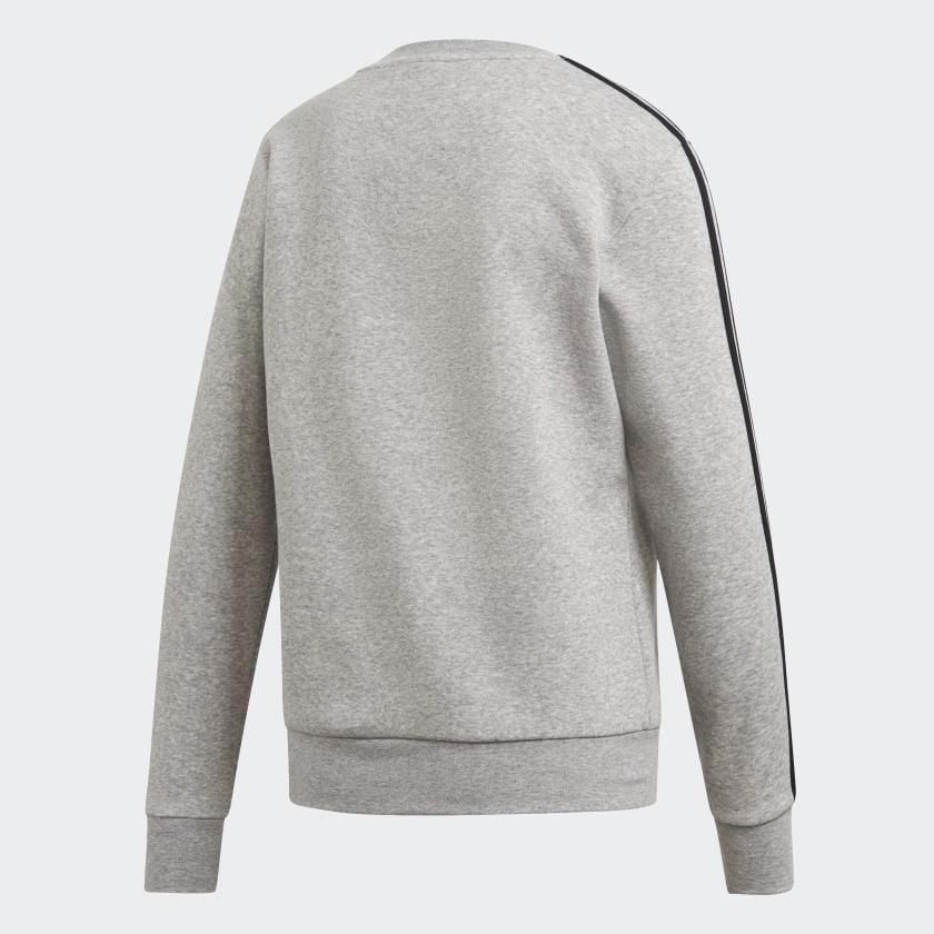 adidas-Essentials-3-Stripes-Sweatshirt-Women-039-s thumbnail 22