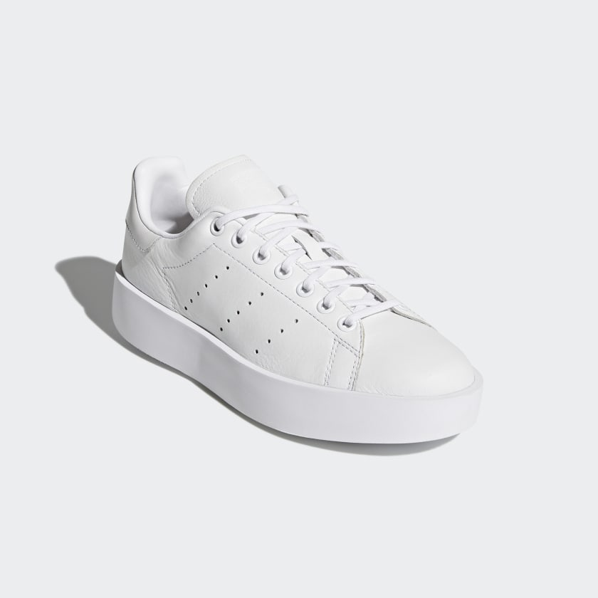 a0a8921b3282 adidas Stan Smith Bold Shoes - White   adidas Australia