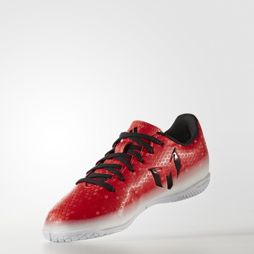 Chuteira Messi 16.4 - Futsal Infantil - Vermelho adidas  ebe4b8fe5fed4