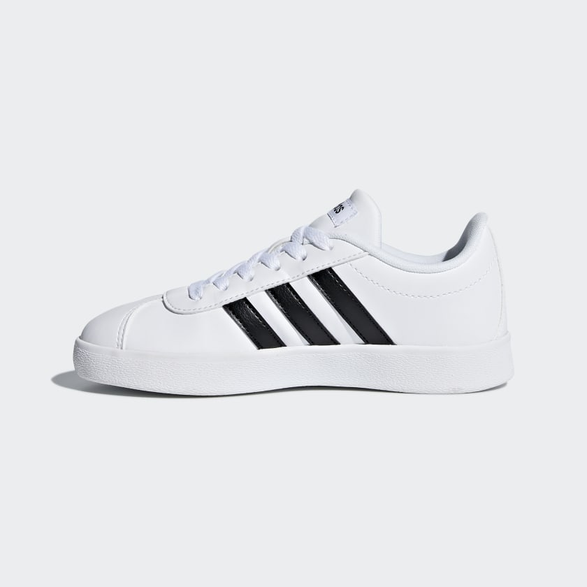 adidas-VL-Court-2-0-Shoes-Kids-039 thumbnail 12