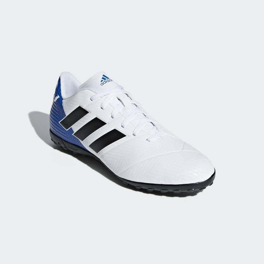 Chuteira Nemeziz Messi Tango 18.4 Society - Branco adidas  2dec9581b6f89
