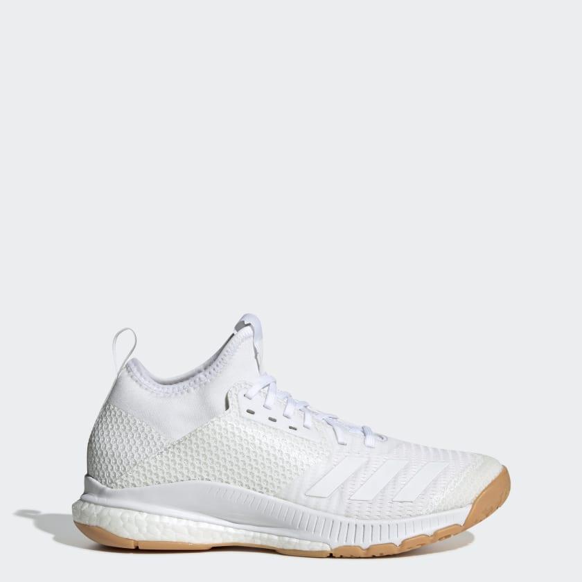 adidas Crazyflight X 3 Mid Shoes - White | adidas US