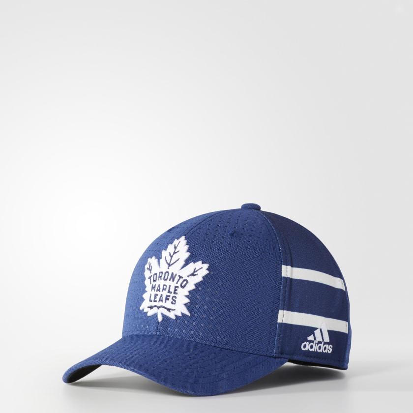 54d5d36690a ... shop maple leafs structured flex draft hat 71197 04084