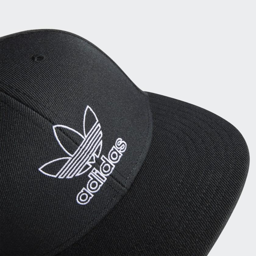 adidas-Originals-Signature-Outline-Snapback-Hat-Men-039-s thumbnail 11