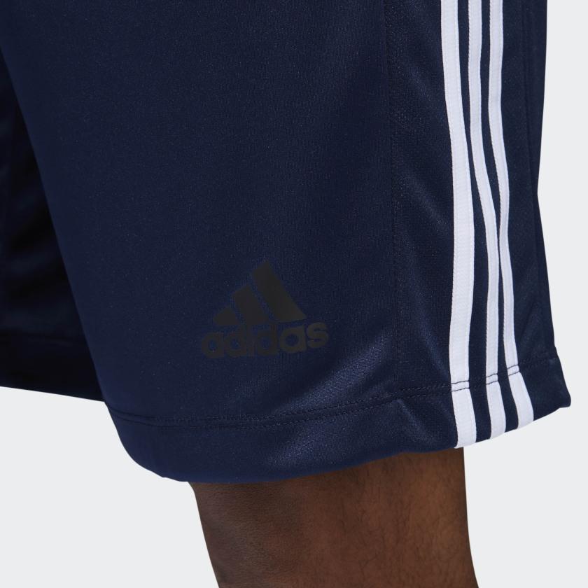 adidas-D2M-3-Stripes-Shorts-Men-039-s thumbnail 24