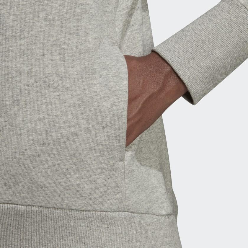 adidas-Badge-of-Sport-Long-Hoodie-Women-039-s thumbnail 27