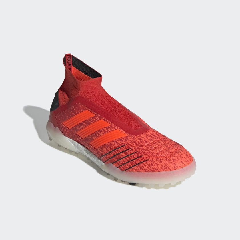 CHUTEIRA PREDATOR 19 0 TF - Vermelho adidas  ddae9e55ecd11