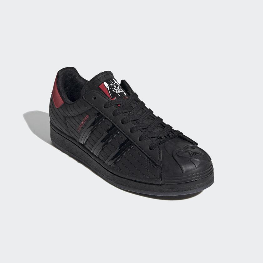 thumbnail 15 - adidas Originals Superstar Star Wars Darth Vader Shoes Men's