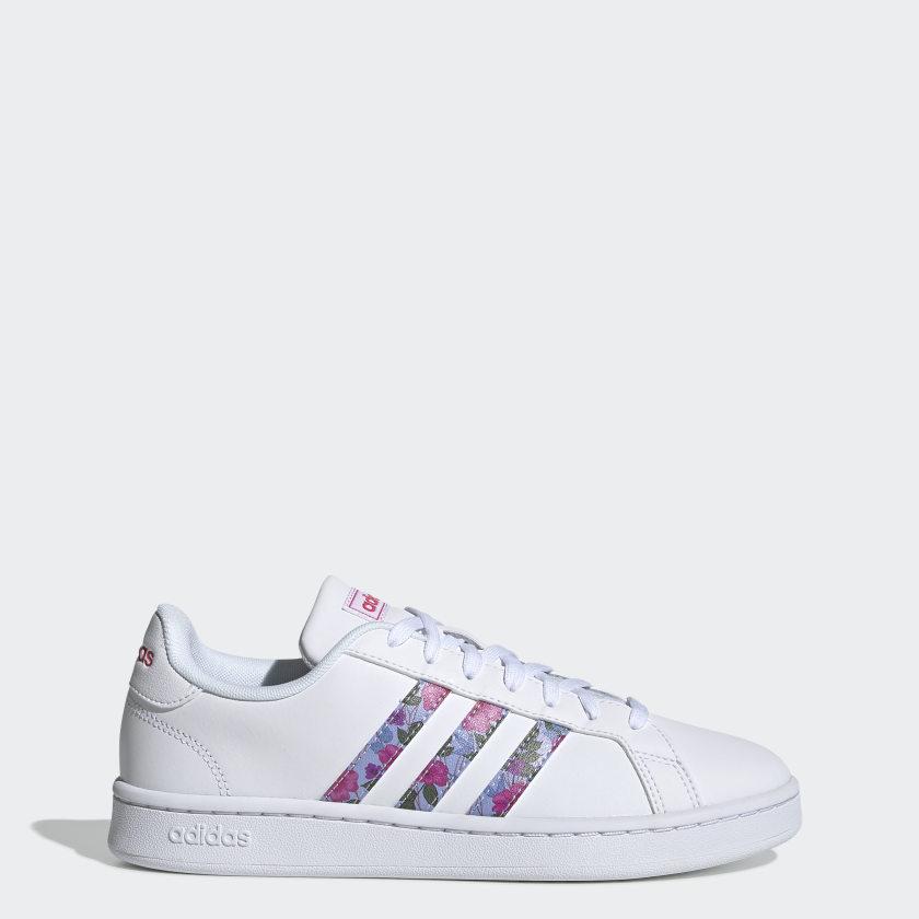 adidas-Originals-Grand-Court-Shoes-Women-039-s thumbnail 13