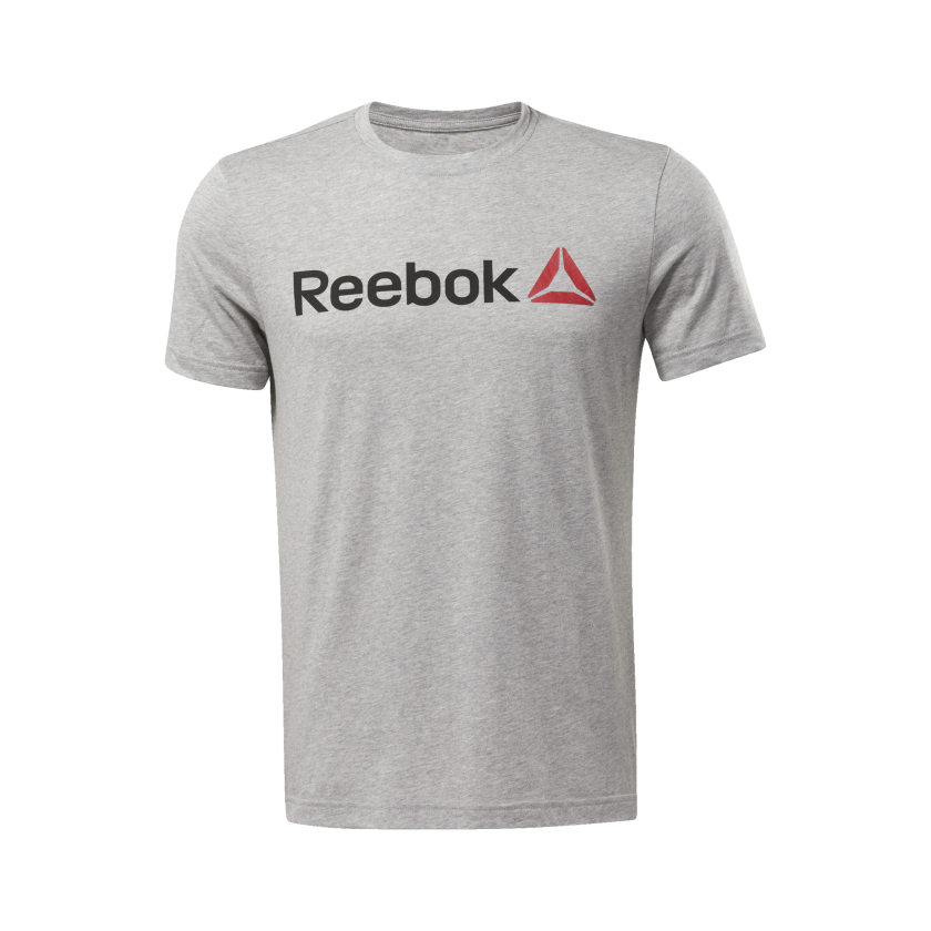 Reebok-Men-039-s-Linear-Read-Tee thumbnail 20