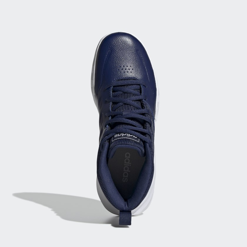 adidas-OwnTheGame-Wide-Shoes-Kids-039 thumbnail 20