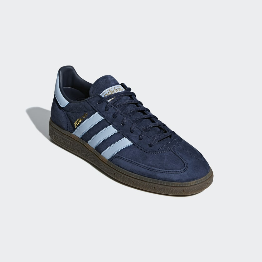 the best attitude 9316e 57d52 adidas spezial shoes blue dress code free